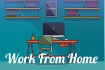 Work From Home Ideas / The latest in ideas for working from home; either as a side-hustle, or a full blown home-based career.