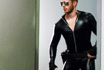 Leather Rubber Lycra