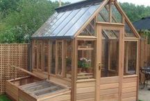 Tranquil Garden - Construction / Gardening, construction, build, greenhouse, raised beds, pergola, arbour, planters, cedar, wood