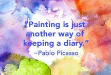 Art Quotes / Art quotes, quotes on art, Picasso, Artwork, Paintings, art, creative art, whimsical art, whimsical paintings, colorful art, art for sale, buy art, art pieces, printable art, painting