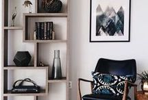 Decor / art isn't just for walls. here are some beautiful spaces and hacks we love!