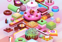 The sweet stuff / All things CANDY, as discovered and pinned by the Behance Team. / by Behance