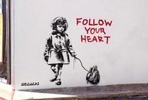 Street Art Graffiti Love