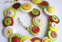 CRAFTS - Buttons, Ribbon, & Zippers / by Jeanette Cloyd