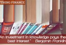 Business & Finance Books / A collection of business and finance books that we consider a must read for anyone interested in either topic.