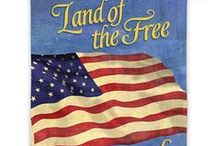 God Bless America / Many ways to show pride and celebrate the United States. God Bless America.