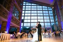 Great Hall Events / The iconic INDIANA obelisk graces the center of the Great Hall, lending elegance and unmistakable Hoosier presence to events. With the canal flowing outside and the breathtaking architecture indoors, it is a remarkable venue for any event.