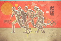 Olympic Inspiration / Art and design inspired by the Olympic Games / by Behance