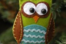 CRAFTS - Felt Projects / by Jeanette Cloyd