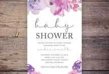 Baby Shower Invitations / A full collection of baby shower invitation and games to make the perfect party.