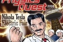 Nikola Tesla / Illustrations of scientist and inventor Nikola Tesla that I've illustrated for a comic series published by APS Physics. / by Kerry G. Johnson Illustrations ...