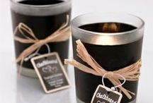 Candle Favors / Candles & Favors for weddings, bridal showers, baby showers, graduation, birthday, anniversarys.  Practical bridal shower candle favors and baby shower candle favors / by Favor Couture The Aspen Shops