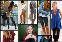 How to Wear Leggings  / A collection of stylish outfits, all with leggings. Providing flexibility and coverage, Leggings are an excellent option for moms.
