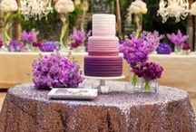 Pantone 2014 Inspiration / Radiant Orchid is the 2014 color of the year.  We look forward to seeing how it gets incorporated into our events this year!
