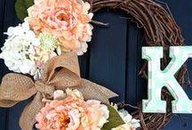 Door Decor  / by Kalyn Randolph