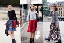 How to Wear: Full Skirts / Full skirts are one of the biggest (and most comfortable and functional) trends for spring 2014. Here's how to wear them and still stay cool.