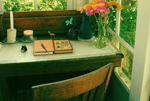 Writing hideaways / Places I would love to escape to and write. If that were ever possible!