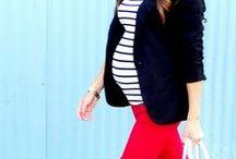 Maternity & Nursing Fashion / Cute in the blue stripes version.