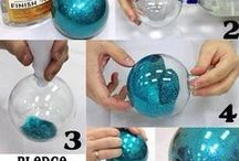 Christmas / Holiday Craft Projects / Various things to make to decorate with or give as gifts
