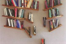 Bookshelves and bookcases / by Emily Organ