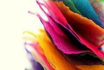 farbenfroh - colorfully - colorée / Kunterbuntes, für gute Laune!