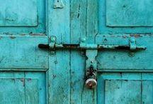 türkis - turquoise - turquoise