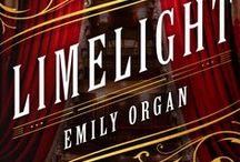 Novel: Limelight / Limelight - a Victorian mystery.  How can someone be murdered when they're already dead?  London 1883. It's five years since famous actress Lizzie Dixie drowned in the Thames, so Scotland Yard is baffled when she's found shot dead in Highgate Cemetery.