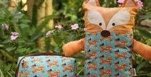 Presentes | Maternidade / #naninhas #presentes #infantil #raposa #hugpillow #kids #dogs #fox #gifts #handmade