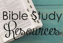 Bible Study Resources / Tips and tools to dig deeper into God's word.