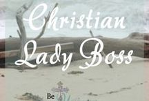 Christian Lady Boss / Everything I love as a Christian Lady Boss. Podcasts, posts, guides, vlogs, and more: All about life as a Christian, Female, entrepreneur!