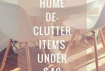Decor on a Budget || The Allure Blog / Home organization, decor & DIY from http://theallureblog.com