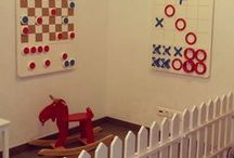 Декор и мебель для детских клубов / Чтобы детки не скучали, нужно правильно оформить детскую зону. В нашей мастерской мы создаем правильные детские пространства. Детские игровые уголки, игровые комплекс, занимательные настенные игры. Оформление детских пространств на открытом воздухе. Горке и игровые домики, бизиборды и необычные игры, деревянные замки, тир, игрушки