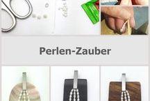 Perlen-Zauber / Auf dieser Pinnwand zeigen wir dir Ideen, wie du mit dem Connector aus Perlen faszinierende Schmuckstücke gestalten kannst. Auf unserer Homepage findest du die DIY-Anleitung.