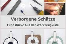 verborgene Schätze - Fundstücke aus der Werkzeugkiste / Auf dieser Pinnwand zeigen wir dir Ideen, wie du mit dem Connector aus Beilagscheiben faszinierende Schmuckstücke gestalten kannst. Auf unserer Homepage findest du die DIY-Anleitung.