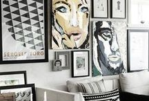 WALL DECOR / Wall paper, paint and more ideas for wall / by Functional Home