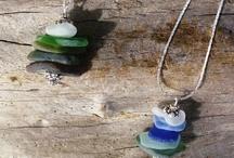Driftwood, seaglass & seashells crafts / by Linda Lou