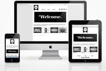 Web - Mobile / Boîte à inspiration pour réaliser un webdesign ou un mobildesign / by Cecile Philippe