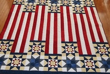 Quilts-Red, White & Blue / by Kim Grace