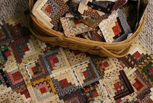 Quilts-Log Cabin & Variations / by Kim Grace