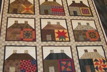 Quilts-Houses / by Kim Grace