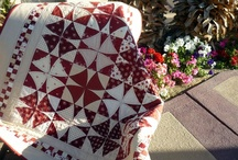 Quilts-Red & White / by Kim Grace