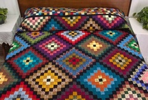 Quilts-Granny Square, Trip Around the World, Postage Stamp / by Kim Grace