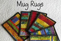 Quilts-Mug Rugs/Coasters/Hot Pads / by Kim Grace