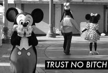Naughty and nice Disney / Original Disney artwork and macabre reproductions