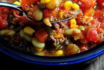 Soups, chillis, casseroles & crockpot