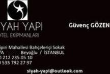 SİYAH YAPI ve OTEL EKİPMANLARI / KİŞİYE ÖZEL ÇALIŞMA PRENSİBİ