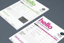 Creative invoice templates for freelancers. / Get lovely free invoice templates. Special design for UK freelances like you :) Go ahead: http://www.getalbert.com/invoice-templates/