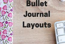 Bullet Journal Layouts