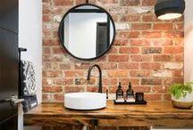 Banheiros / Confira diversos banheiros que são uma inspiração para seus projetos.