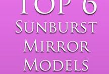 Sunburst Mirror Ideas / We share about sunburst mirror models and ideas. Follow our board